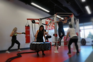 octa-shred bootcamp vaughan girls fitness boxing male weight lifting